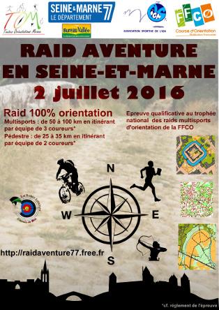 Raid Aventure 77